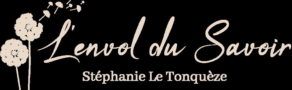 logo l'envol du savoir beige