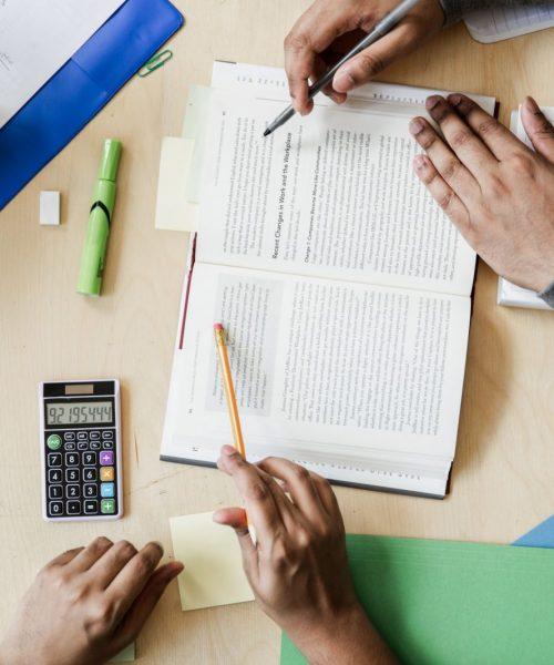 groupe de travail lycée et collège - devoirs scolaires